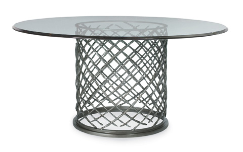 Bernhardt - Hallam Dining Table with Glass Top - 336-773/998-060