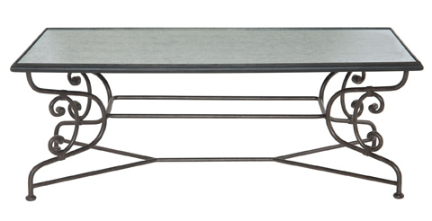 Image of Auberge Metal Cocktail Table