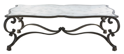 Image of Villa Medici Metal Cocktail Table