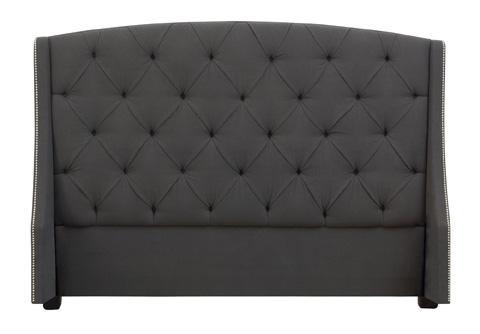 Bernhardt - Jordan Queen Button Tufted Wing Headboard - 758-H64H