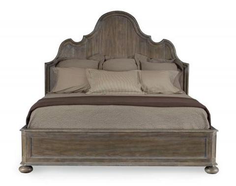 Bernhardt - Belgian Oak Panel Bed - 337-H07/FR07