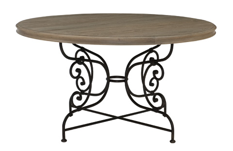 Image of Auberge Round Dining Table
