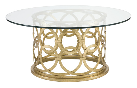 Image of Geneva Round Cocktail Table