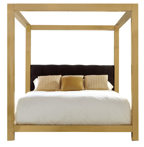 Image of Kensington Metal Canopy Bed