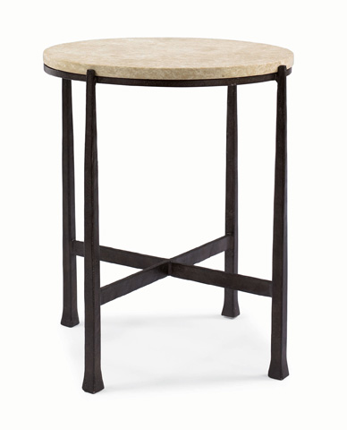 Image of Duncan Round Metal Side Table