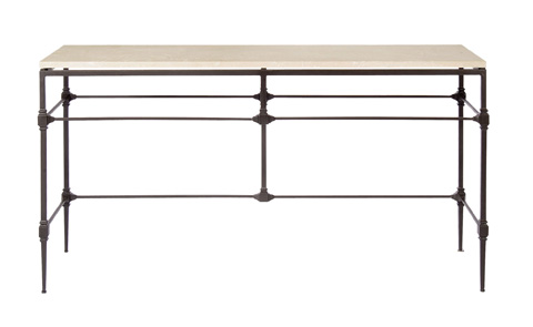 Image of Ellsworth Metal Console Table
