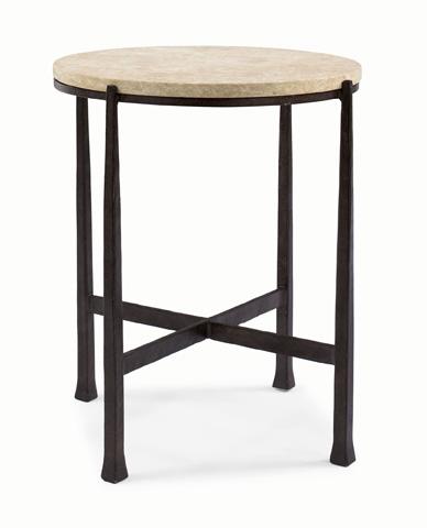 Bernhardt - Duncan Round Metal Side Table - 418-123S, 418-123