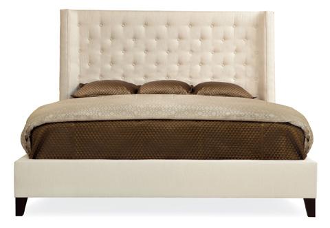 Bernhardt - Maxime Wing Bed - 323-H76-FR76