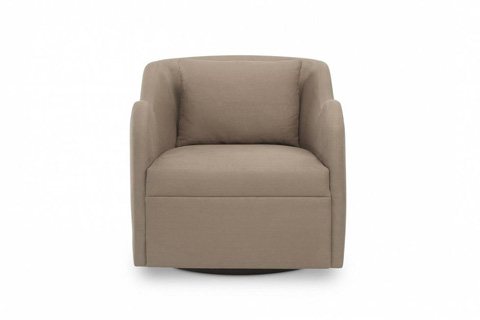 Image of Kinkou Lounge Chair with Swivel Base