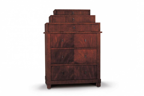 Image of Rosenau Biedermeier Tiered Chest