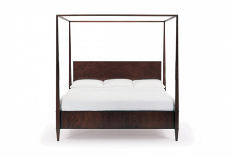 Image of Rosenau California King Bed with Posts