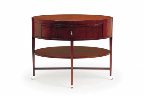 Image of Rosenau Oval Side Table