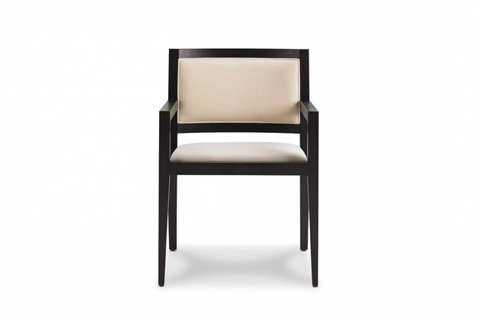 Image of Domicile Upholstered Back Arm Chair