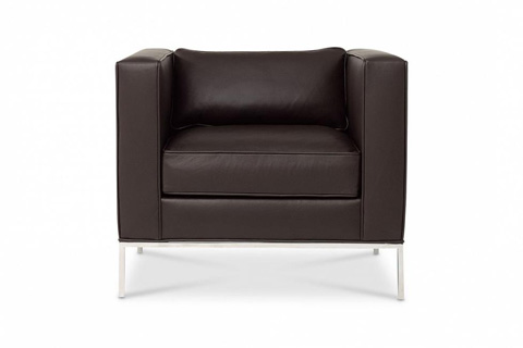 Image of Domicile Tufted Square Lounge Chair