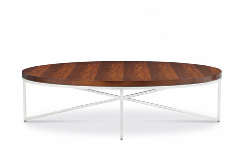 Bolier & Company - Domicile Cocktail Table with Walnut Top - 63053
