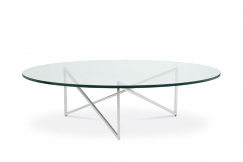 Bolier & Company - Domicile Cocktail Table with Glass Top - 63055