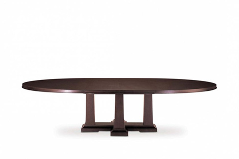 Bolier & Company - Domicile Pier Oval Dining Table - 65016