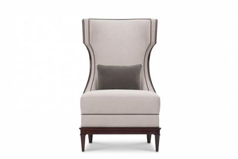 Image of Modern Luxury Demi Wing Chair