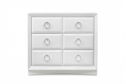 Image of Modern Luxury Chest with Four Drawers