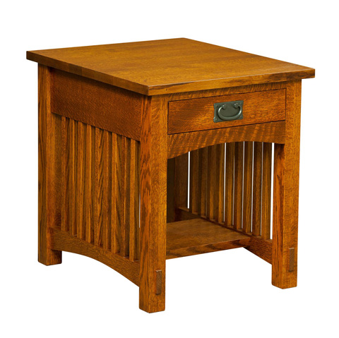 Image of Bungalow One Drawer End Table