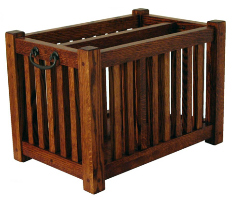 Borkholder Furniture - Bungalow Magazine Rack - 13-2506XXX