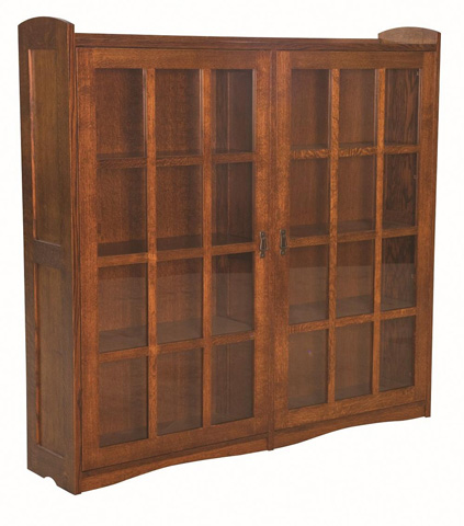 Image of Bungalow Bookcase with Double Door