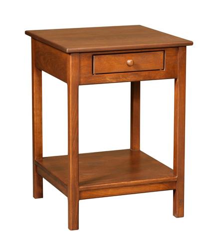 Borkholder Furniture - Nightstand with Drawer - 16-1606XXX