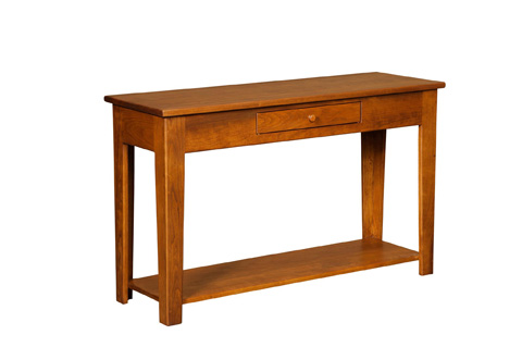 Image of Console Table with Drawer
