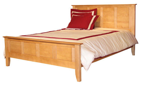 Image of Fifth Ave Queen Panel Bed