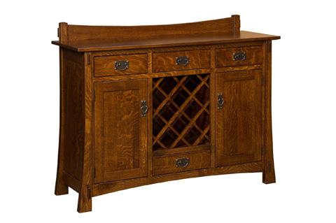 Borkholder Furniture - Highland Wine Buffet - 21-1102XXX
