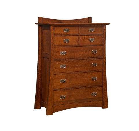 Image of Highland Eight Drawer Chest