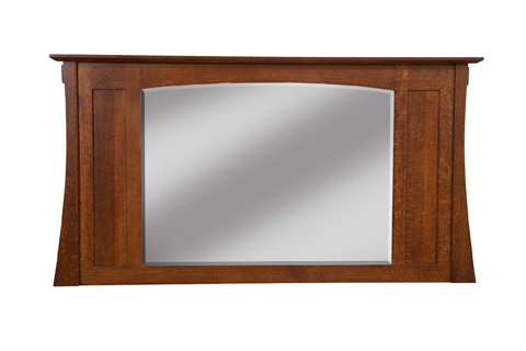 Image of Highland Twelve Drawer Dresser Mirror