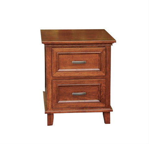 Image of Livingston Two Drawer Nightstand