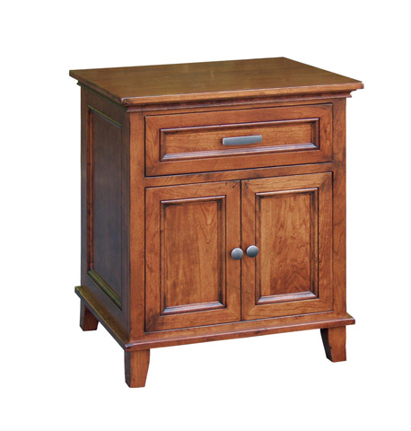 Image of Livingston One Drawer Two Door Nightstand