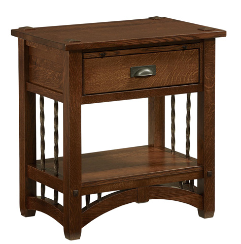 Image of Arroyo Seco One Drawer Nightstand