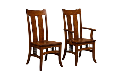 Borkholder Furniture - Arroyo Seco Side Chair - 37-9001SCX