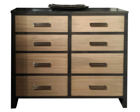 Image of Embassy Eight Drawer Tall Dresser