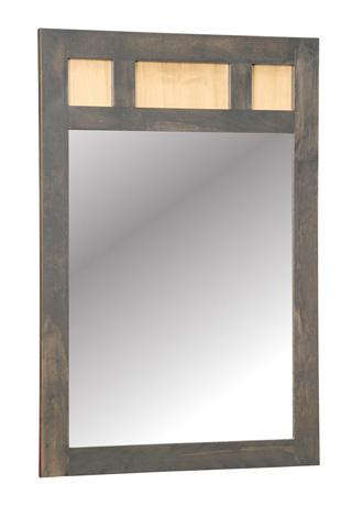 Borkholder Furniture - Embassy Low Dresser Mirror - 39-2001XXX