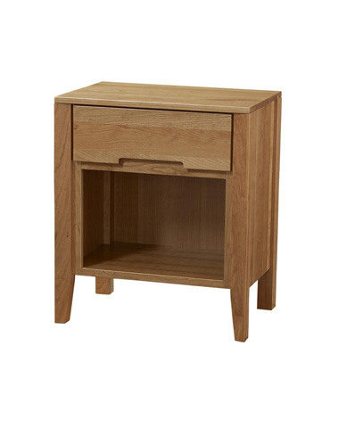 Image of Transitions Open Bottom Nightstand