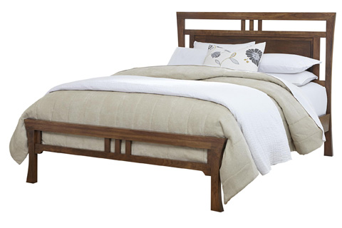 Image of Lansing Queen Panel Bed