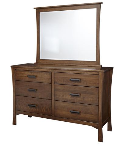 Image of Lansing Beveled Dresser Mirror