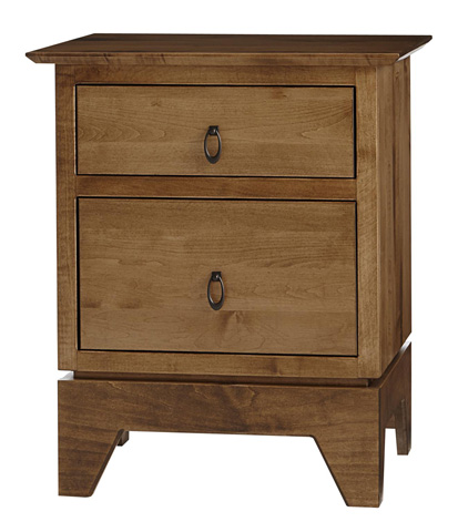 Image of Millcreek Two Drawer Nightstand