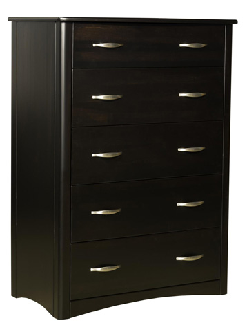 Borkholder Furniture - Carrington Five Drawer Chest - 45-1801XXX
