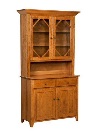 Image of Shaker Two Door Hutch and Buffet
