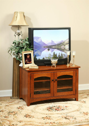 Image of Modern Shaker TV Stand