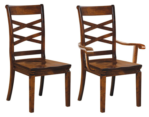 Image of Double X Arm Chair