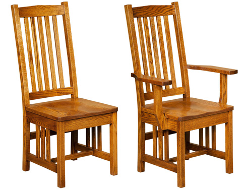 Image of Ola's Mission Arm Chair