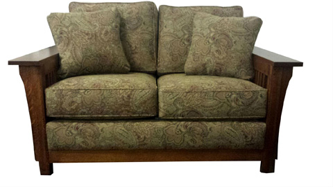 Borkholder Furniture - Bungalow Loveseat - 13-2303STD