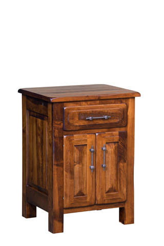 Image of Burwick Nightstand with Doors