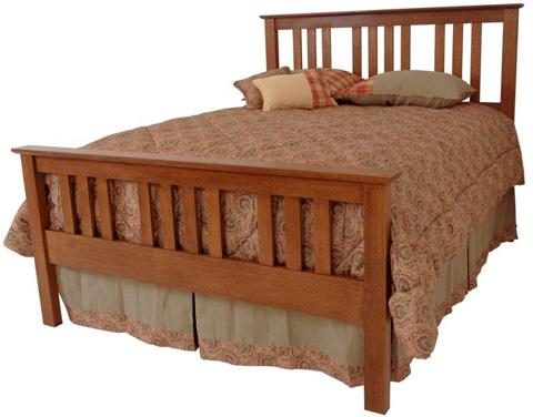Borkholder Furniture - Prairie Bed in King - 16-1501KXX